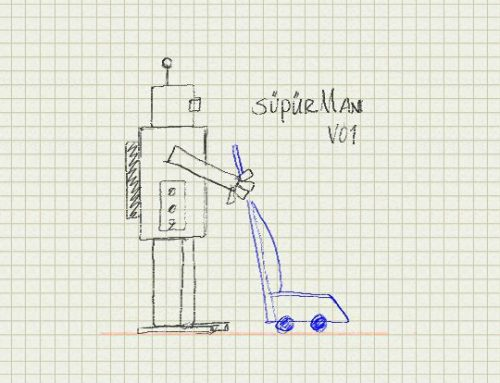 SüpürMan – Autonomous Vacuum Cleaner Project